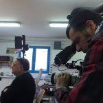 Jacques Mitsch, réalisateur du film & Mathias Touzeris, à la caméra.