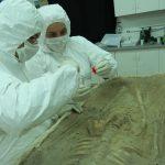 Bruno Boulet, Paléoanthropologue à l'Institut Français d'archéologie & Juanita Cortes, Directrice de recherche au centre d'archéologie de Bilbao
