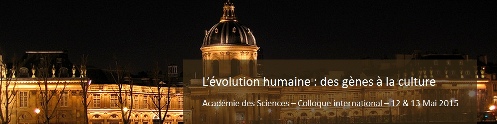Colloque Académie des Sciences 2015
