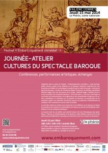 Festival 2014 - Affiche Cultures du spectacle baroque - copie