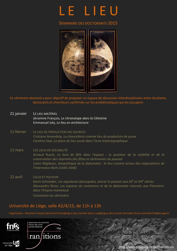 Séminaire doctorants 2014 - jour 1