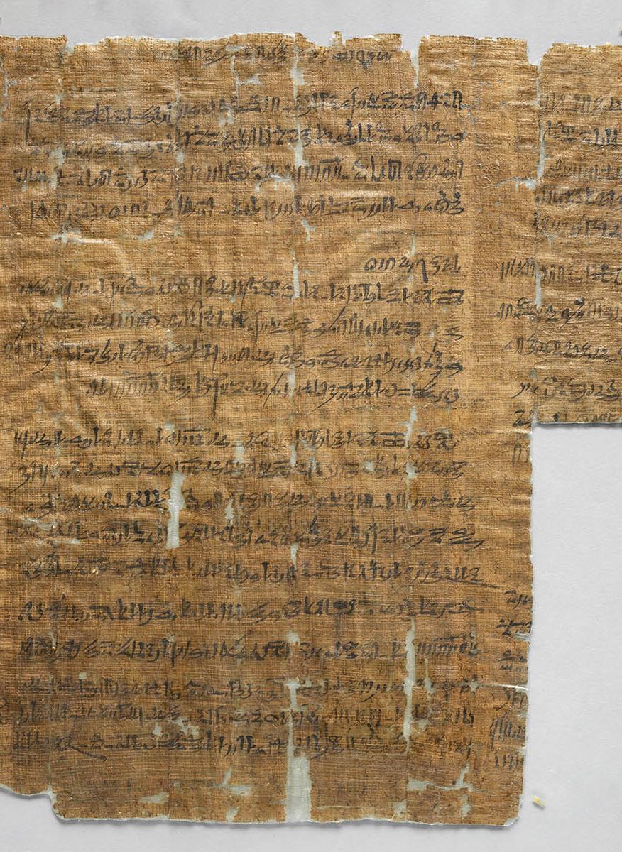 Image - Segment of Papyrus Turin Cat. 1880